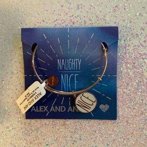 Alex and Ani naughty and nice bangle